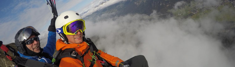 Daniel Leppert Panoramaflug über Klosters